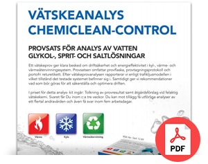 Chemiclean-control